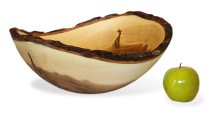 Bark Edge Ambrosia Maple Bowl