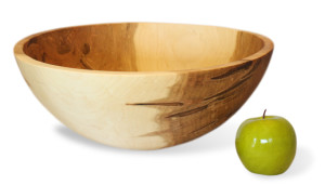 Ambrosia Maple Round Bowl