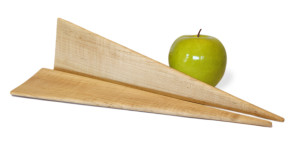 Smooth Maple Salad Servers