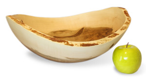 Wane Edge Ambrosia Maple Bowl